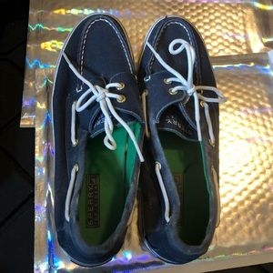 💍GUC Sperry Navy Women's Size 9.5 Shoes